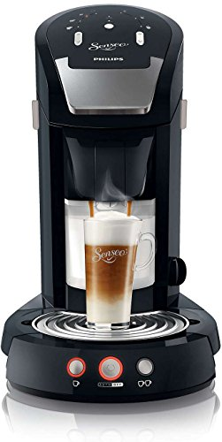 Philips HD7854/60 Senseo Latte Select Kaffeepadmaschine (2650 Watt, 1.2 L, Easy-clean Taste) schwarz - 1
