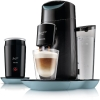 Philips Senseo HD7874/60 Twist & Milk Kaffeepadmaschine, misty dawn-schwarz - 1
