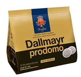 Dallmayr Prodomo Pads, 5er Pack (5 x 16 Pads) - 1